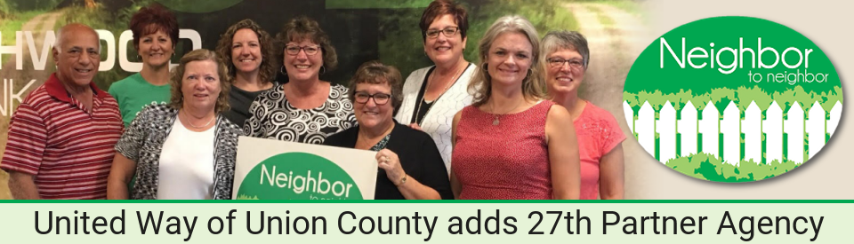 Union County Neighbor to Neighbor becomes the United Way of Union County's 27th Partner Agency
